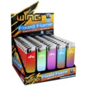 Fashion Gradient Fixed Flame Electronic Lighter (50/1000)