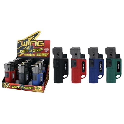 Get A Grip Rocket Single Torch Lighter (12/240)