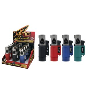 Get A Grip Jet Engine Double Torch Lighter (12/240)