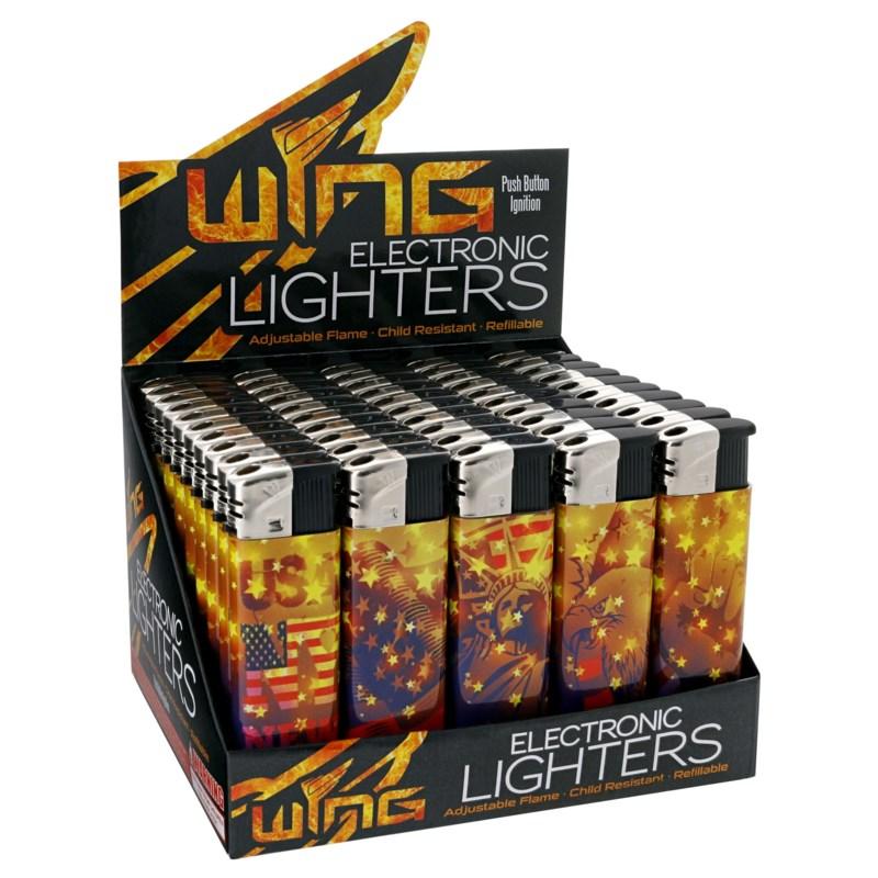 USA Star Electronic Lighter (50/1000)