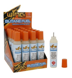 Butane Refill (0.32oz.) 20pc/display 400pc/case