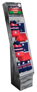 Team Colored Winter Shipper - Navy/Red/White - 48pcs