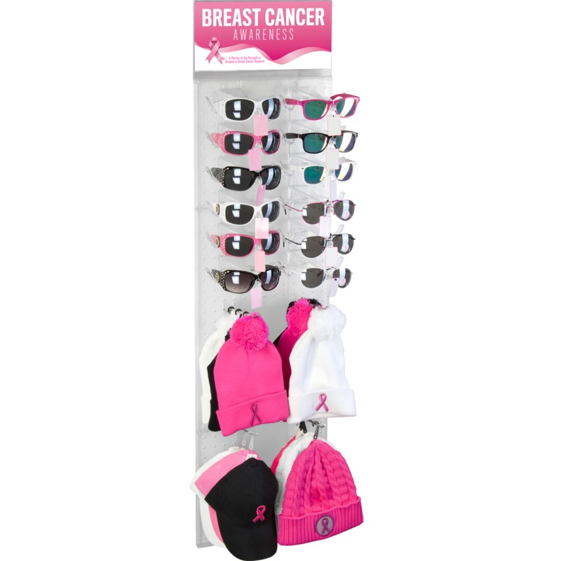 Breast Cancer Awareness Side Panel Display