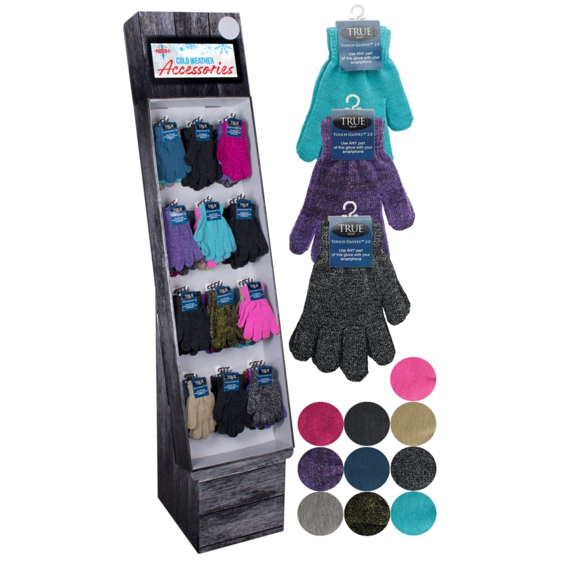 True Gear Touch Gloves® Display - 72pcs
