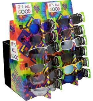 Promo Sunglasses with 2 POP Displays - 72pcs