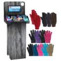 Stretch Gloves Assortment Shipper - 132pcs