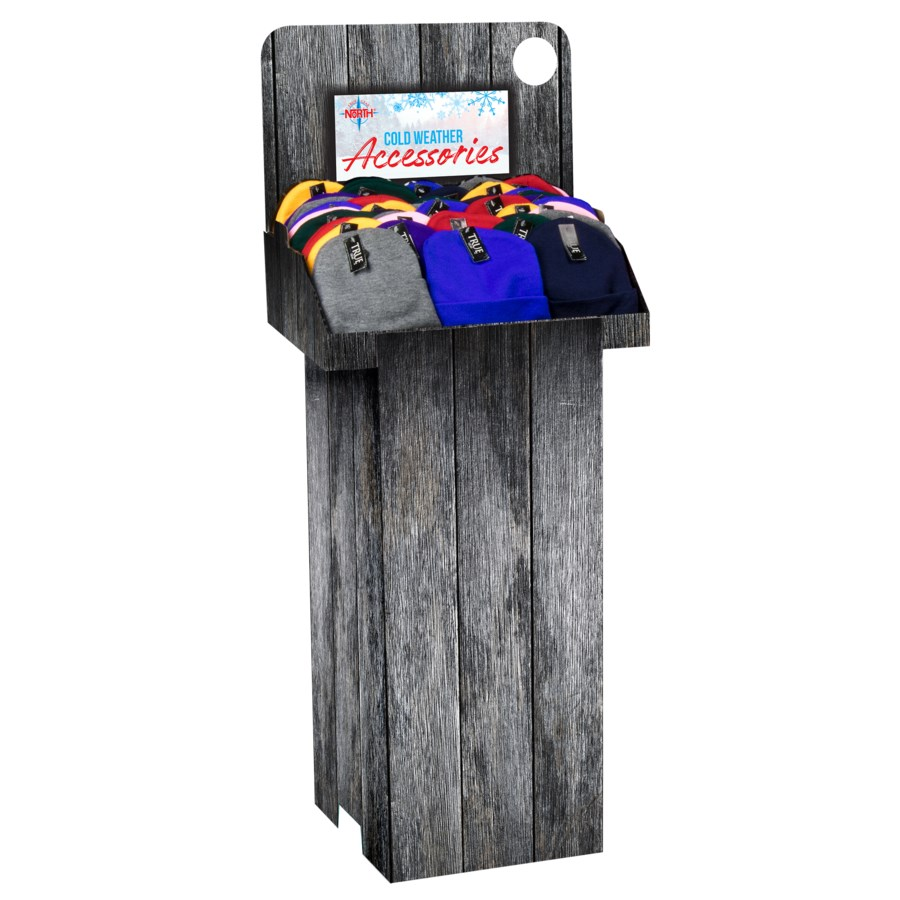 Assorted Beanies Shipper - 144 pcs