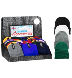 Assorted Beanies Shipper - 144pcs