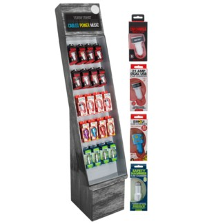 Car Chargers Shipper - 54pcs