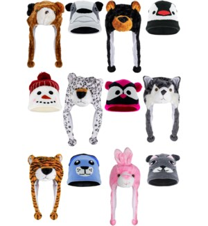 Juniors' Winter Hat Mix - 12pcs