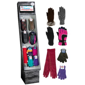 Women's Gloves Assortment Display