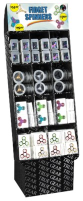 Fidget Spinner 144 pc Compartment Shipper
