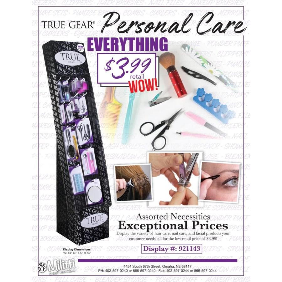 Personal Care Shipper - 100 pcs