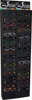 iWear Readers with Black End Cap Display - 144pc