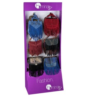 Fringe Collection on Endcap Display - 24pcs