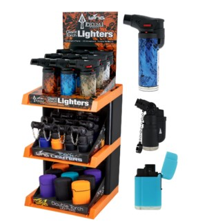 Lighter Tower - All Torch - 132pcs