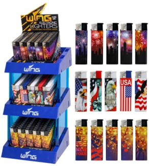 Lighter Tower - All Electronic - 450pcs