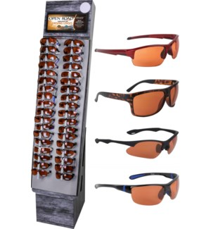 Open Road Sunglasses Shipper - 48pcs