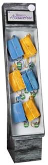 Stadium Accessories Cobalt Blue/Gold Purse Shipper - 24pcs