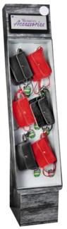 Stadium Accessories Crimson/Black Purse Shipper - 24pcs