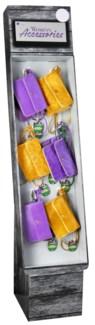 Stadium Accessories Purple/Gold Purse Shipper - 24pcs