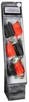 Stadium Accessories Red/Black Purse Shipper - 24pcs