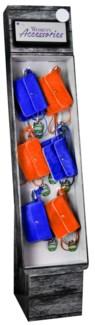Stadium Accessories Royal Blue/Orange Purse Shipper - 24pcs