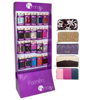 Fall Women's Wallets Femina Endcap - 48pcs