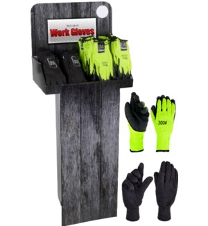 Gardening/Work Gloves Display -150pcs