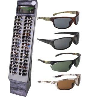 Camo Sunglasses Shipper - 48pcs