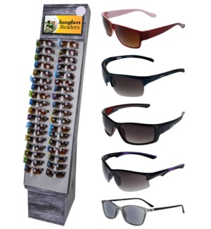 Sunglass Readers Shipper - 48pcs