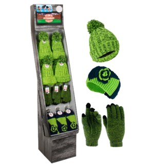 Blue & Green Team Spirit Shipper - 48pcs