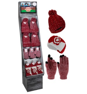 Crimson & White Team Spirit Shipper - 48pcs