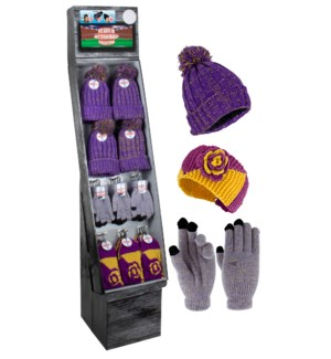 Purple & Gold Team Spirit Shipper - 48pcs