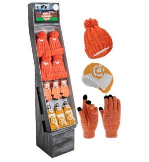 Orange & White Team Spirit Shipper - 48pcs