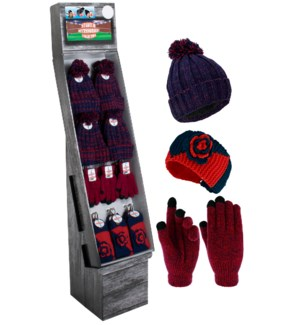 Navy & Red Team Spirit Shipper - 48pcs