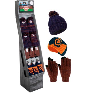 Navy & Orange Team Spirit Shipper - 48pcs