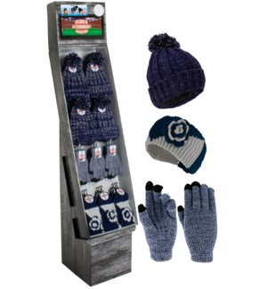 Navy & Silver Team Spirit Shipper - 48pcs