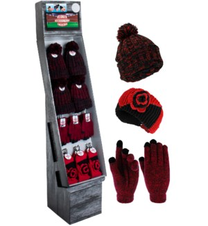 Red & Black Team Spirit Shipper - 48pcs