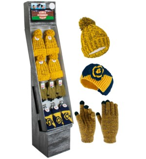 Blue & Gold Team Spirit Shipper - 48pcs