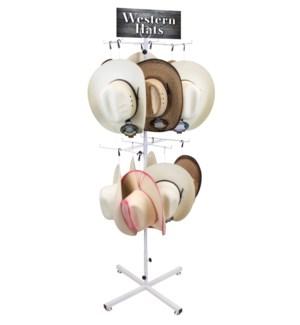 Western Hats Floor Display - 36pcs