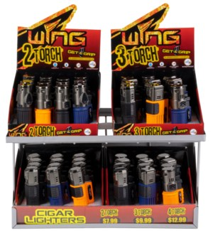 Cigar Lighter Display - 90pcs
