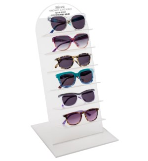 Atlantis Sunglasses with Acrylic Counter Display - 12pcs