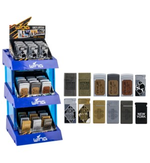 NY Souvenir Wing Display - 72pcs