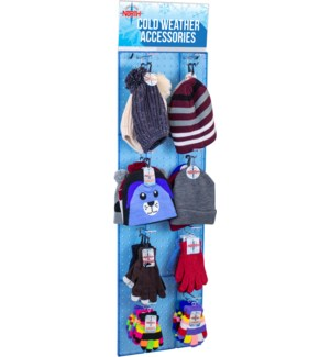 Cold Weather Gear Panel Display - 54pcs