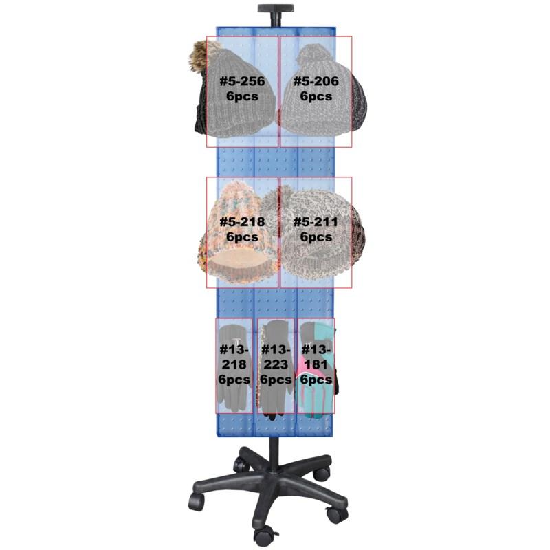 Winter Rack Display - 150pcs