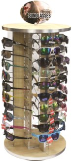 iShield Premium Sunglasses 40 pc Counter Spinner