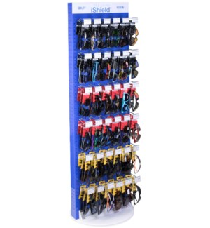 iShield Assorted Sunglasses - Blue Spinner - 102pcs
