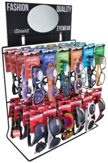 Read/Sun Assortment - Wire Counter - 48pc
