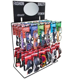 iShield Read/Sun - Wire Counter/Hanging Display - 48pcs